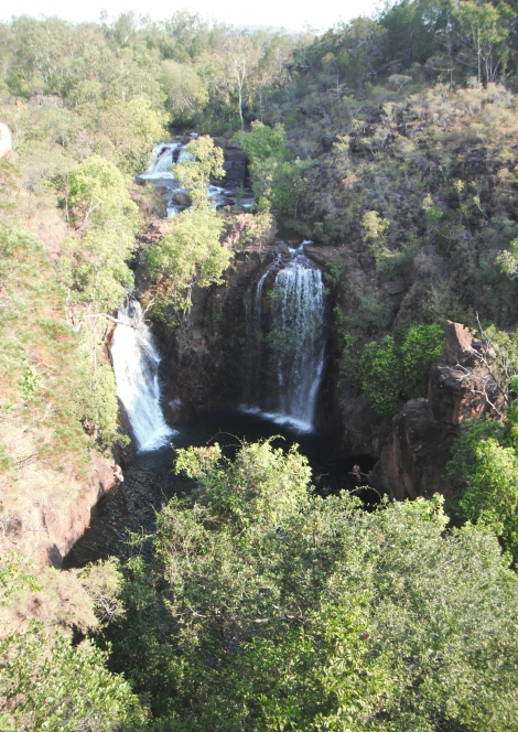 Florence Falls, waterfalls, Northern Territory, travel, adventure