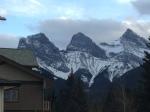 Three Sisters Rockies