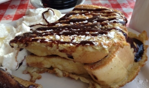 chipmunk french toast, banff, tooloulou's