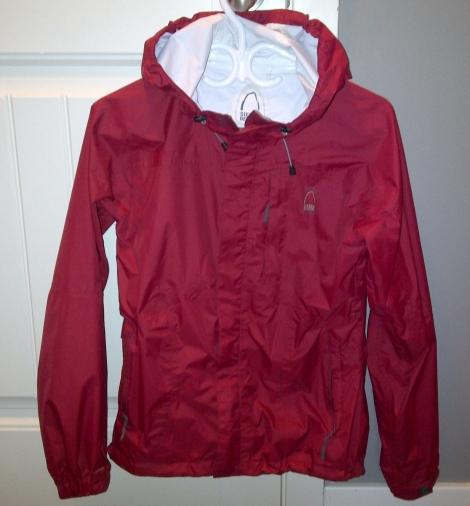 Yessiree, my very first real rainjacket!