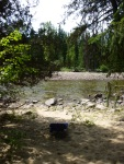 km 41, christian valley, kettle river, bc, camping, camper van, beach, swimming, floating, inner tubes,