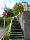 Serious stairs